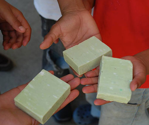 Green Box Soap