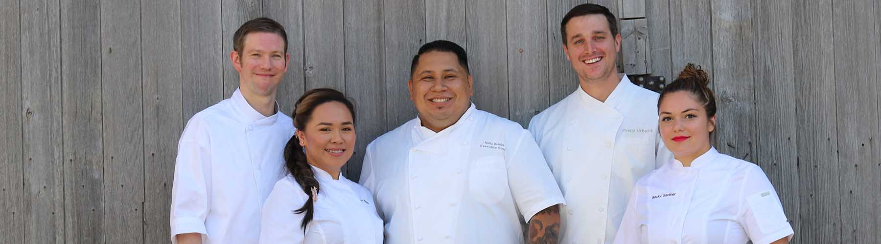Chefs team together
