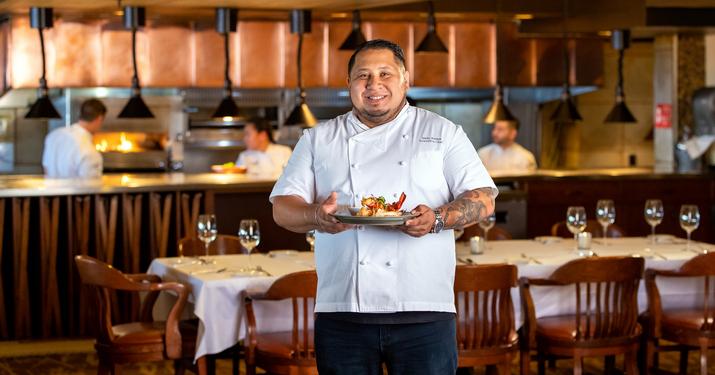 Chef Nelly in Geneva ChopHouse