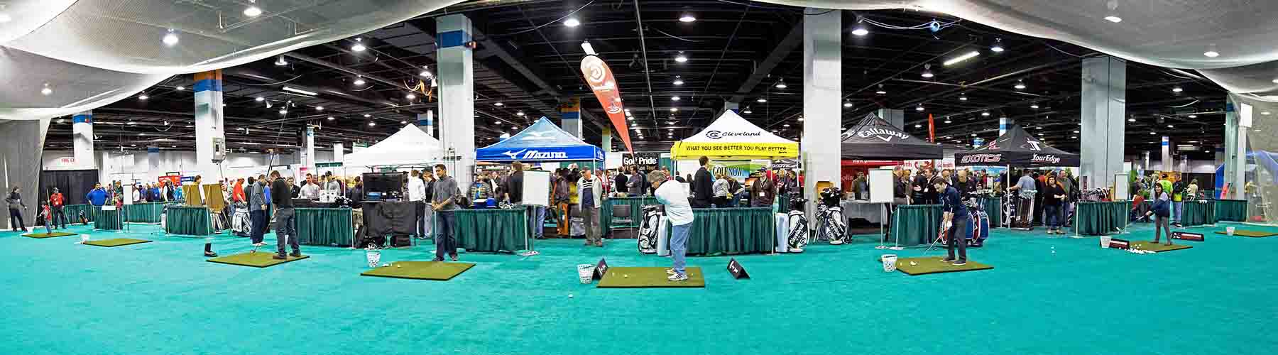 Chicago Golf Show Panoramic