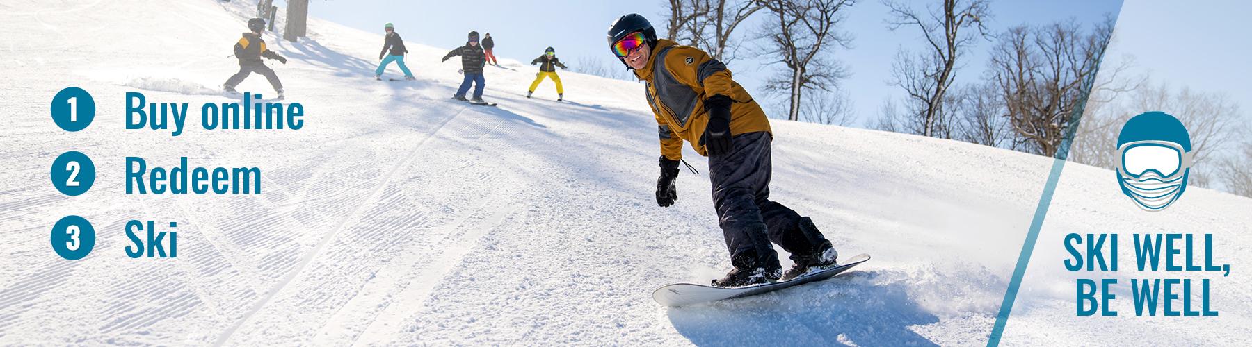 Ski 3 steps