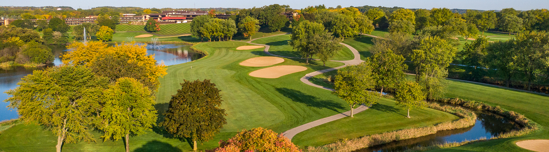 fall view of The Brute Golf Course