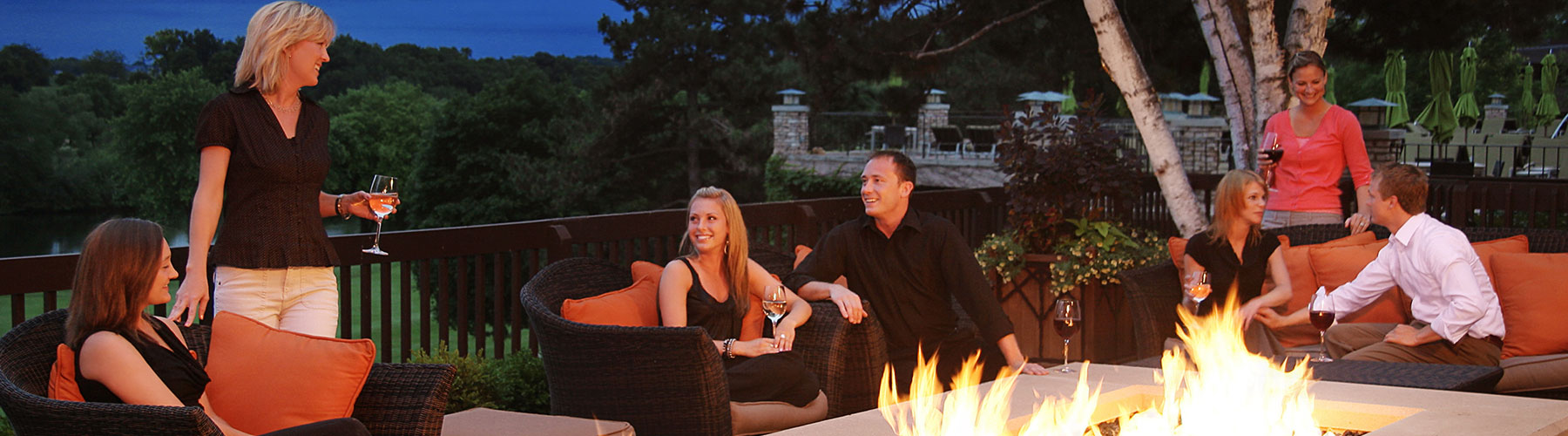 Embers Terrace - Fireside Fun