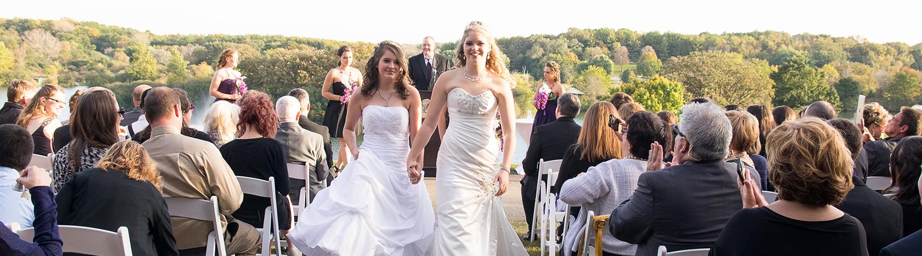 Lesbian Wedding At Grand Geneva Resort & Spa