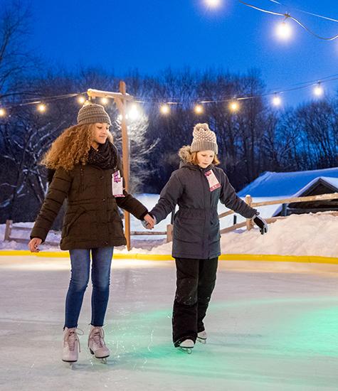 Ice Skating and Sledding