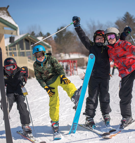junior ski lessons