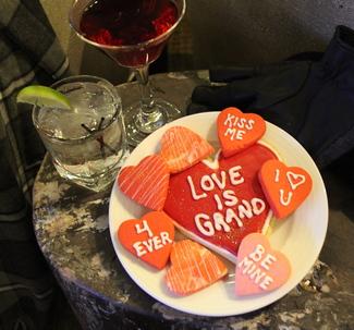 Assortment of Valentine's Cookies