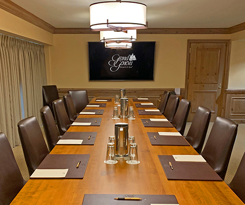board room meeting