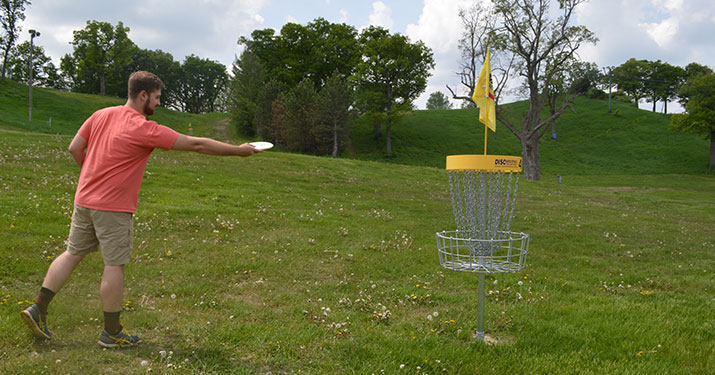 Lake geneva disc golf
