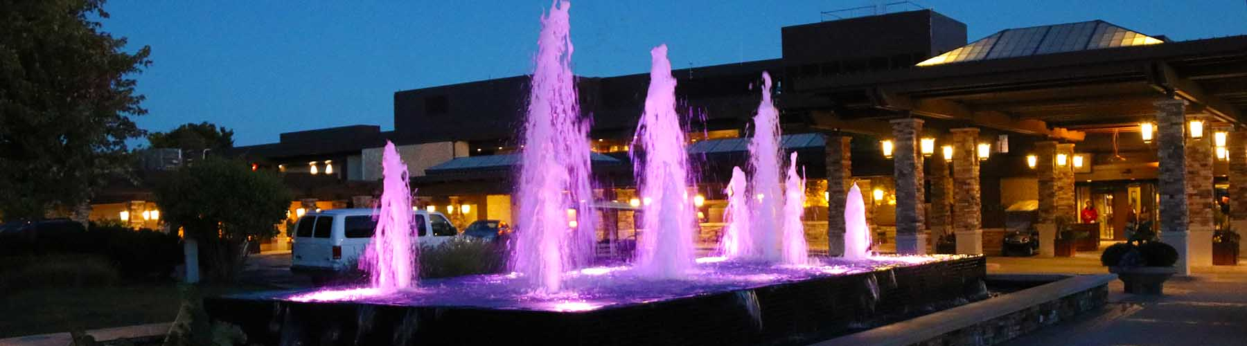 Pink Water Fountains
