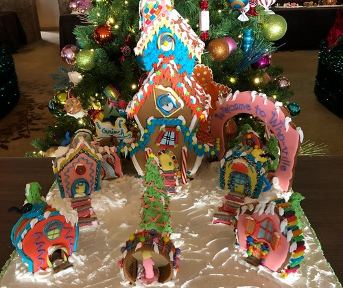 Whooville Gingerbread House
