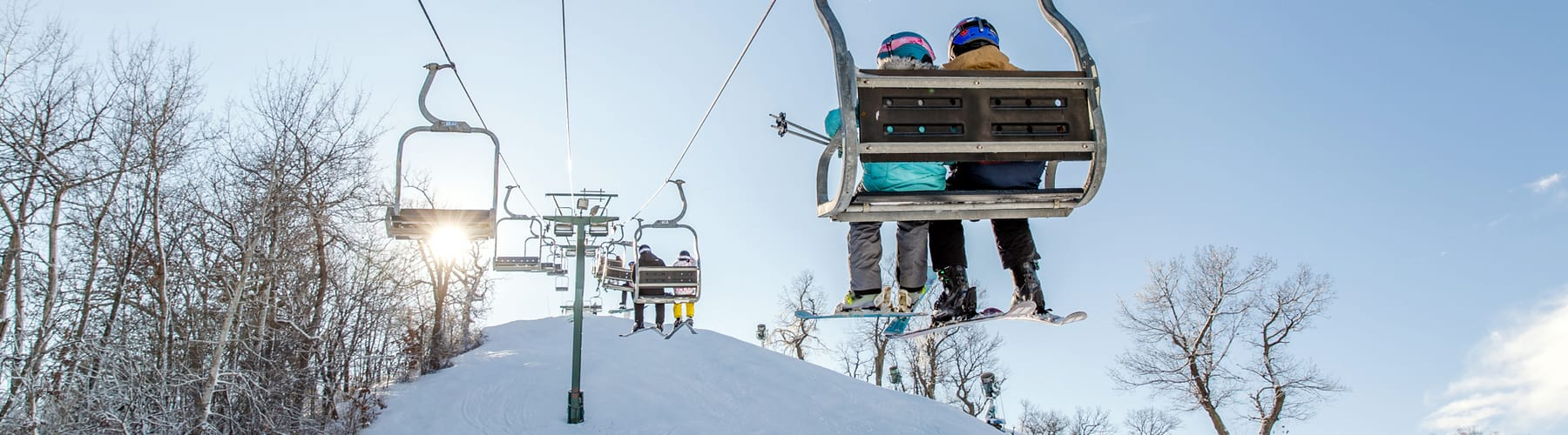 Chairlift at The Mountain Top