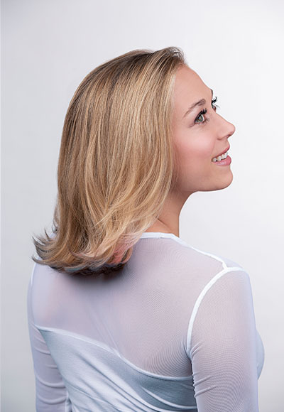 Flipped Hair
