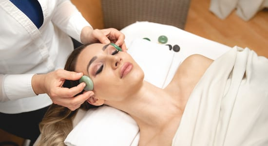 Facial at WELL Spa