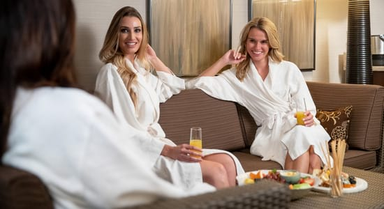 Women Relaxing at the Spa