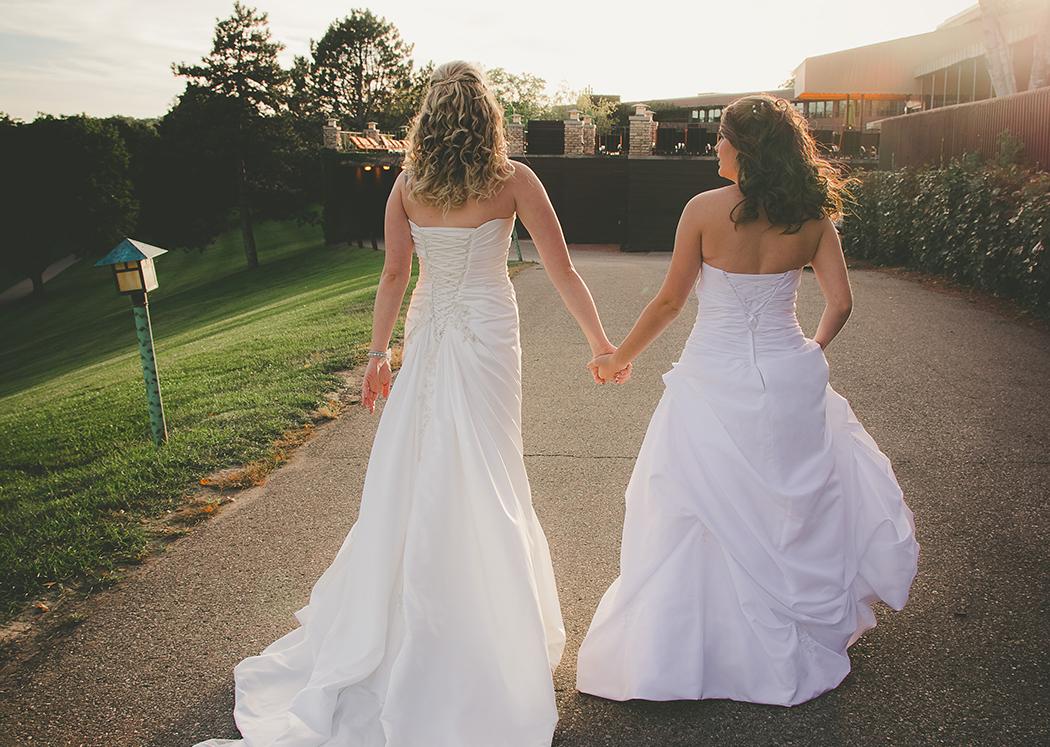 Lesbian Wedding at Grand Geneva