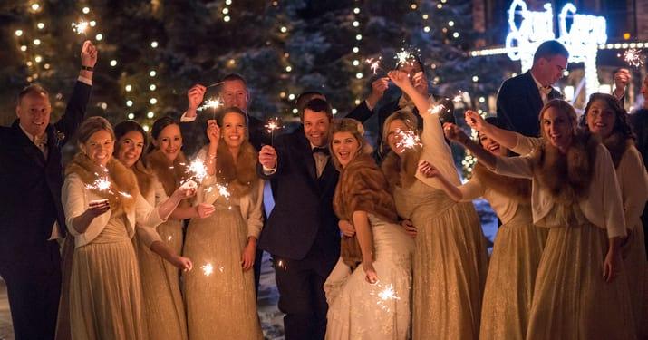 Winter Wedding at Grand Geneva